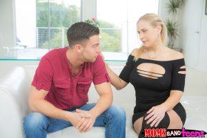 Moms Bang Teens Angel Allwood & Skylar Green in Naked Impression with Seth Gamble 3