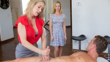 Moms Bang Teens Brandi Love & Taylor Whyte in Love is in the Bare with Van Wilde 5