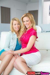 Moms Bang Teens Cherie Deville & Zoey Monroe in So Naughty with Van Wilde 1