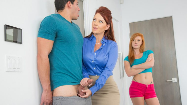 Moms Bang Teens Janet Mason & Alex Tanner in Teaching Alex with Tony Martinez 10