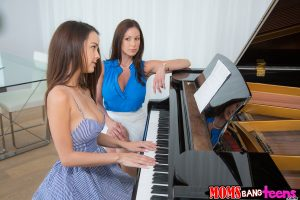 Moms Bang Teens Kendra Lust & Dillion Harper in Laws of Attraction with Van Wilde 1