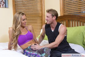 Naughty America Nicole Aniston & Ryan Mclane in My Girlfriend's Busty Friend 1
