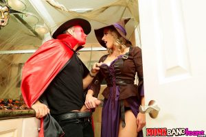 Moms Bang Teens Cory Chase & Anastasia Rose in Halloweeny 4