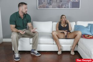 Mrs Creampie Brooklyn Chase in I Like My Donuts Filled With Cream 2