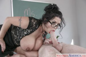 Naughty America Sheridan Love in My First Sex Teacher 8