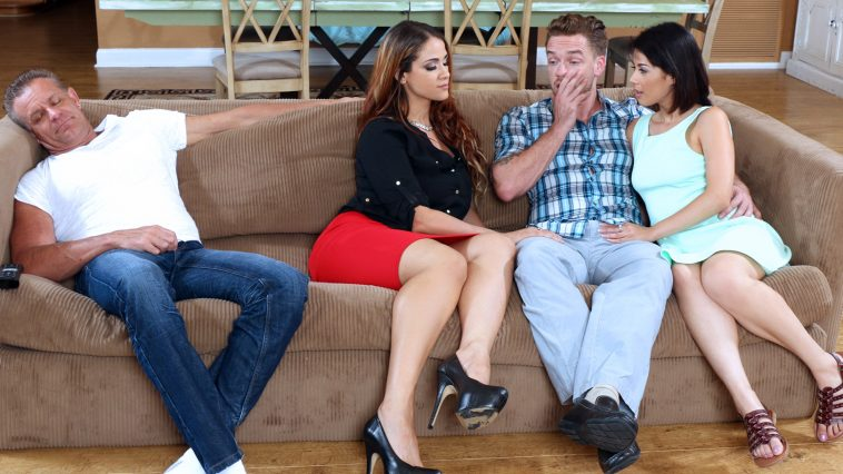 Bad Milfs Miss Raquel and Penelope Reed in Share With Your Mommy 2