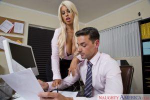 Naughty America Bridgette B in Naughty Office 1