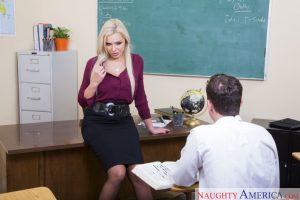 Naughty America Nina Elle in My First Sex Teacher 1