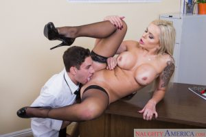 Naughty America Nina Elle in My First Sex Teacher 6
