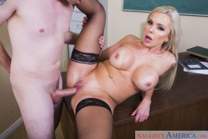 Naughty America Nina Elle in My First Sex Teacher 7
