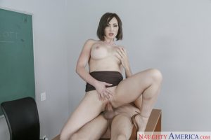 Naughty America Yasmin Scott in My First Sex Teacher 9