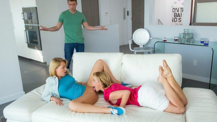 Moms Bang Teens Cherie Deville & Zoey Monroe in So Naughty with Van Wilde 4